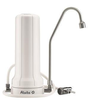 """Alvito AquaNEVO® AuftischFilter Pro Typ """"D"""" ohne Filterkartusche"""