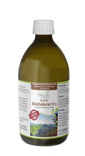 L(+)-Milchsäure Vita