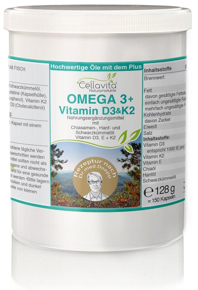 Omega 3 + Vitamin D3 & K2