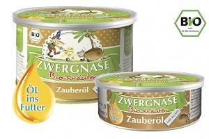 """Zauberöl """"Anti-Zecken"""" (zeckenabwehrendes Futteröl) für Hunde & Katzen BIO"""