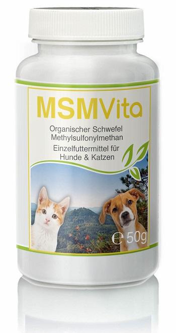 CellaVet MSM – Organischer Schwefel – für Hunde & Katze