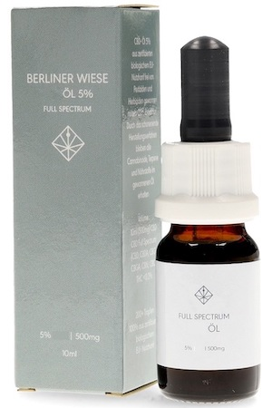 Berliner Wiese Fullspectrum 5% Hanföl 10ml