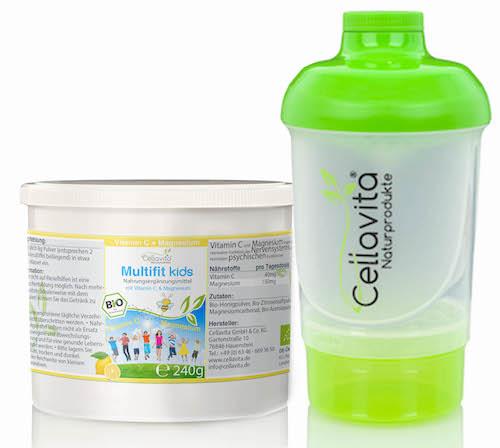Multifit kids Vitamin C & Magnesium