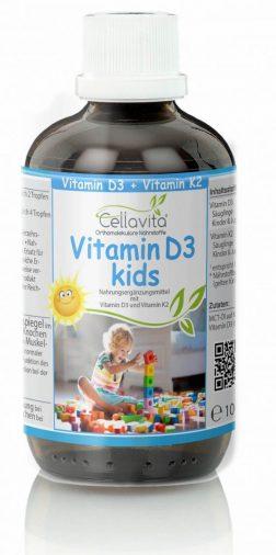 Vitamin D3 kids für Kinder