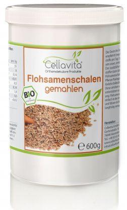 Bio-Flohsamenschalen gemahlen (Pulver)