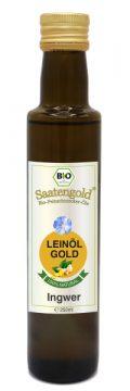 Saatengold-Bio-Feinschmecker-Öle Leinöl Ingwer